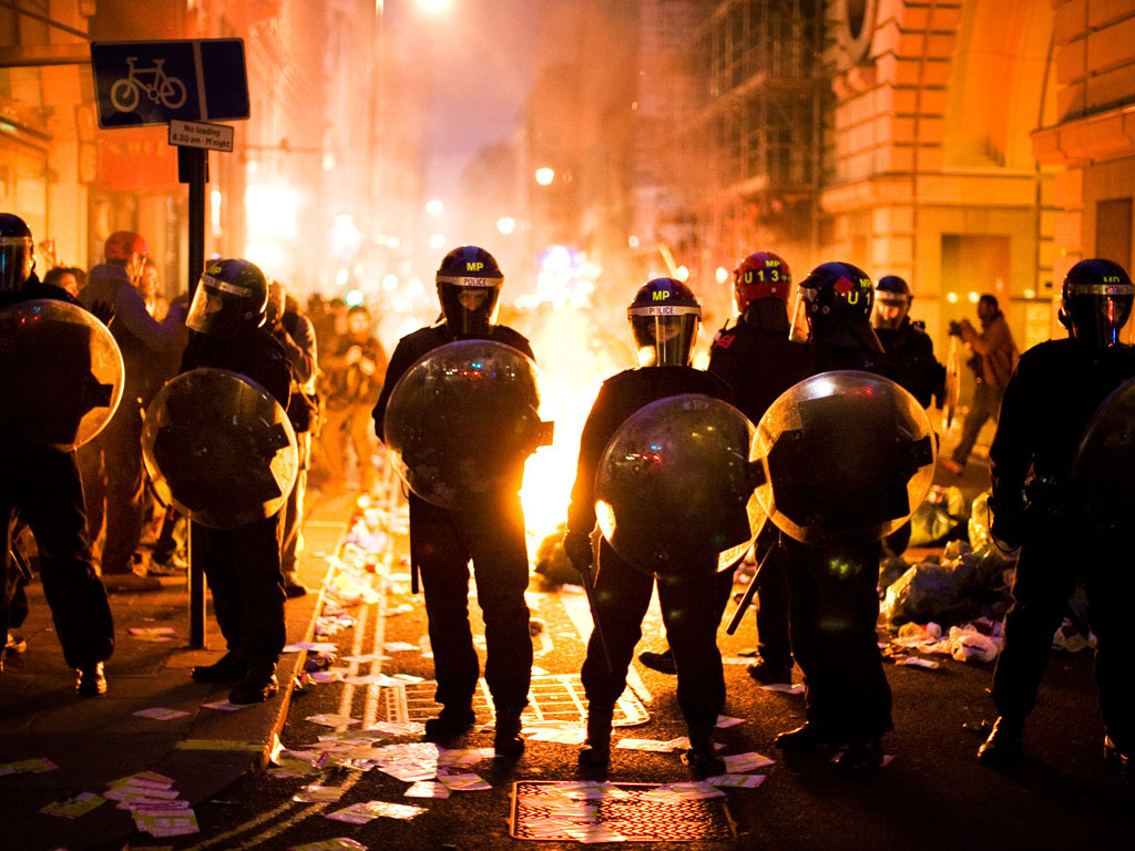 london riots The 2011 riots that started in tottenham and swept across the uk were inflamed by a warped sense of community uniting against the police, psychologists have said.