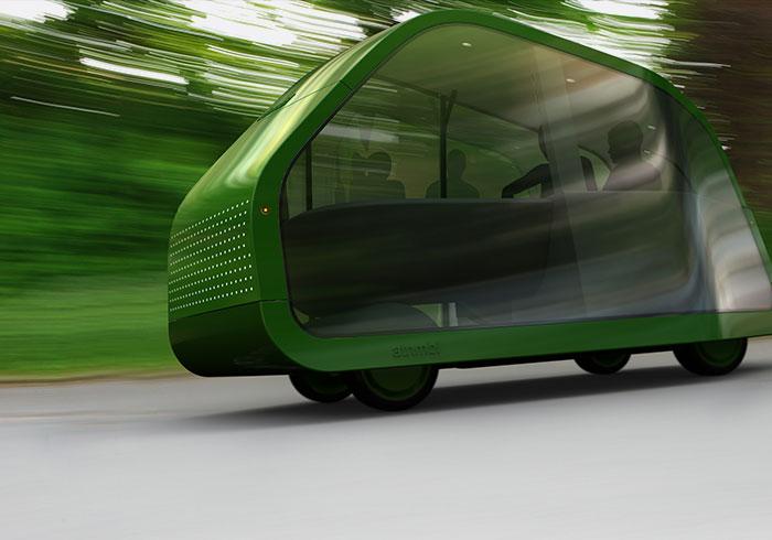 Autonomous car concept by http://www.mikeandmaaike.com/