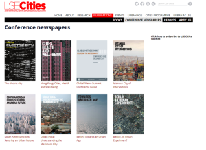 LSE Cities- over a decade exploring comparative urbanism