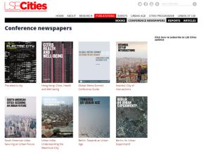 LSE Cities- over a decade exploring comparative urbanism