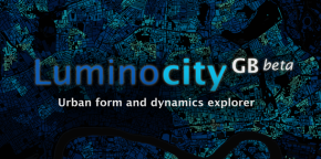 Launching LuminoCity GB: Urban Form and Dynamics Explorer