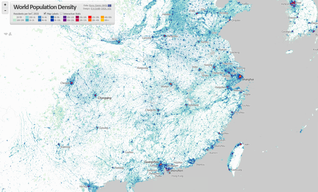 Interactive Mapping Citygeographics Urban Form Dynamics And